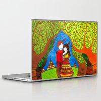 pocahontas Laptop & iPad Skins featuring Pocahontas by Sandra Nascimento