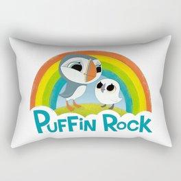 Puffin Rock Logo Rectangular Pillow