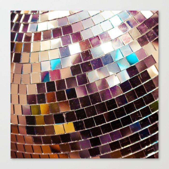 Disco Ball Leinwanddruck