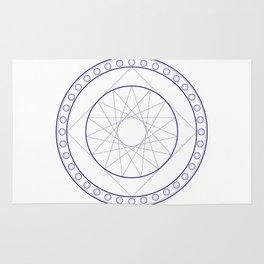 Anime Magic Circle 16 Rug