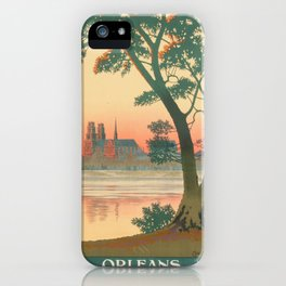 Vintage poster - Orleans iPhone Case