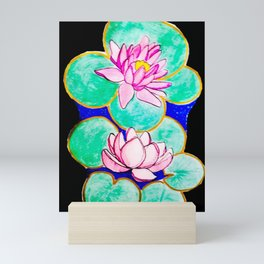 SEA ROSES Mini Art Print