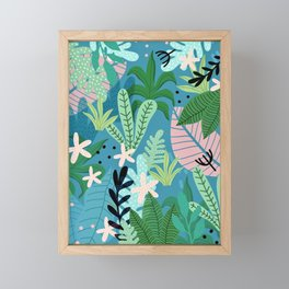 Into the jungle - twilight Framed Mini Art Print