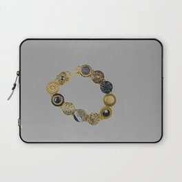 Button Bracelet Laptop Sleeve