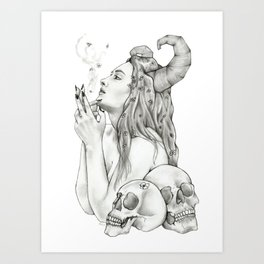 Bruja Art Print
