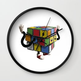 Rubiks Cube Wall Clock