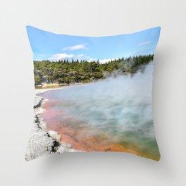 Wanaka, New Zealand Throw Pillow