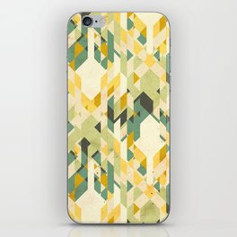 des-integrated tartan pattern iPhone Skin
