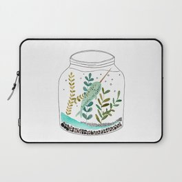 Narwhal in a jar Laptop Sleeve