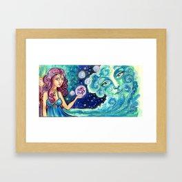 Ocean Goddess Framed Art Print