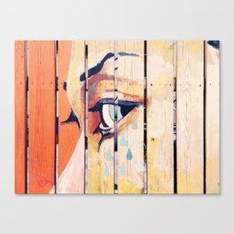 theeye Canvas Print