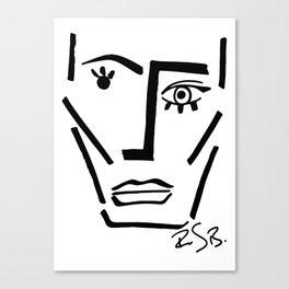 Faire Visage No 71 Canvas Print