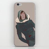 korra iPhone & iPod Skins featuring Korra by Alex Alarcon