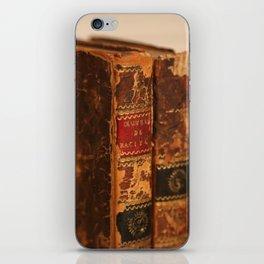Antique Books 2 iPhone Skin