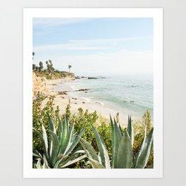 Laguna Beach Day  Art Print