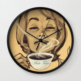Male Tears Wall Clock