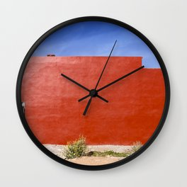 Red House Wall Clock