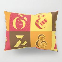 Ampersands Pillow Sham