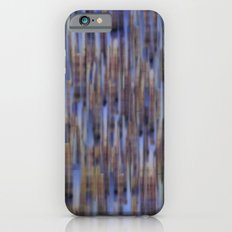 Abstract ~ Blue  lines iPhone 6s Slim Case