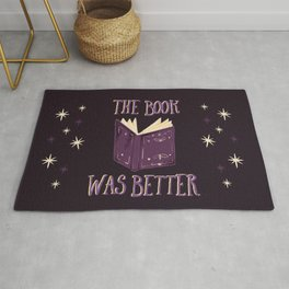 The Book Was Better Rug