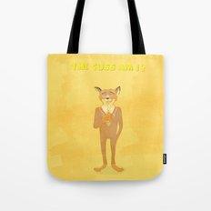 the cuss am i? Tote Bag