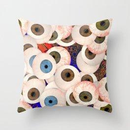 YEUX Throw Pillow