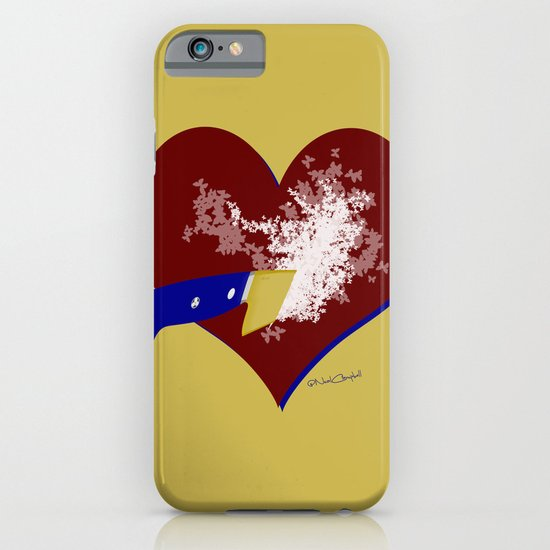 Freeing Butterflies iPhone & iPod Case