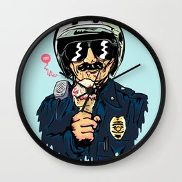 Oh Officer! Wall Clock