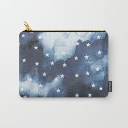 Midnight Star Watercolor Carry-All Pouch