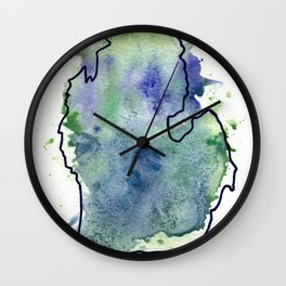 The Great Lakes State Wall Clock