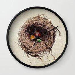 Yoshi Eggs Wall Clock