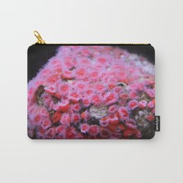 Pink Coral Carry-All Pouch