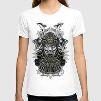 samurai T-shirts featuring Samurai by Brewer Arts