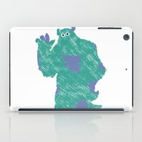 monster inc iPad Cases featuring MONSTER INC. : SULLEY by DrakenStuff+