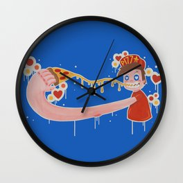 Pizza Guy Wall Clock