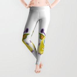 A raster illustration of a monster. Leggings