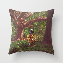 Misplaced Throw Pillow