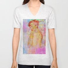 Candy girl Unisex V-Neck