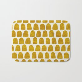 Gold Leaf Bath Mat