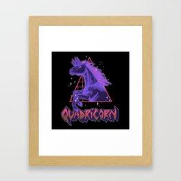 Quadricorn Framed Art Print