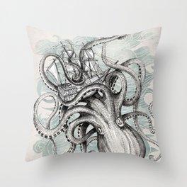 The Baltic Sea - Kraken Throw Pillow