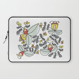 Watercolor Floral Laptop Sleeve