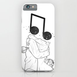 The music love. iPhone Case