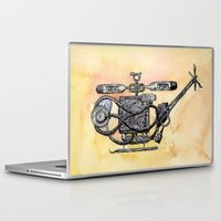 medical Laptop & iPad Skins featuring The Medical Chopper by Sean Greenberg Illustration