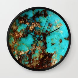 Turquoise I Wall Clock