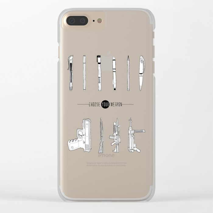 US AND THEM Clear iPhone Case