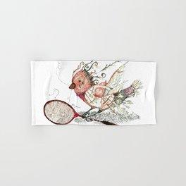 The Wild Badminton Birdie Hand & Bath Towel