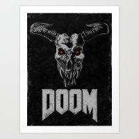 Doom - Icon of Sin Art Print