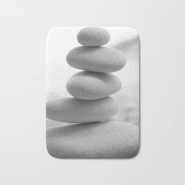 Zen beach rocks print, balancing rocks, mnimalist Beach decor, wall art Bath Mat