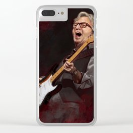 Mr. Eric Clapton Clear iPhone Case